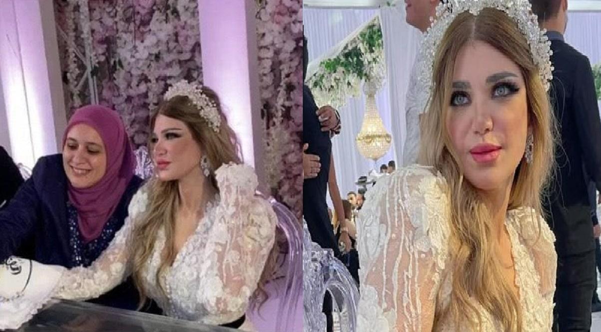 ياسمين الخطيب تحتفل زفافها على رجل الأعمال رمضان حسني