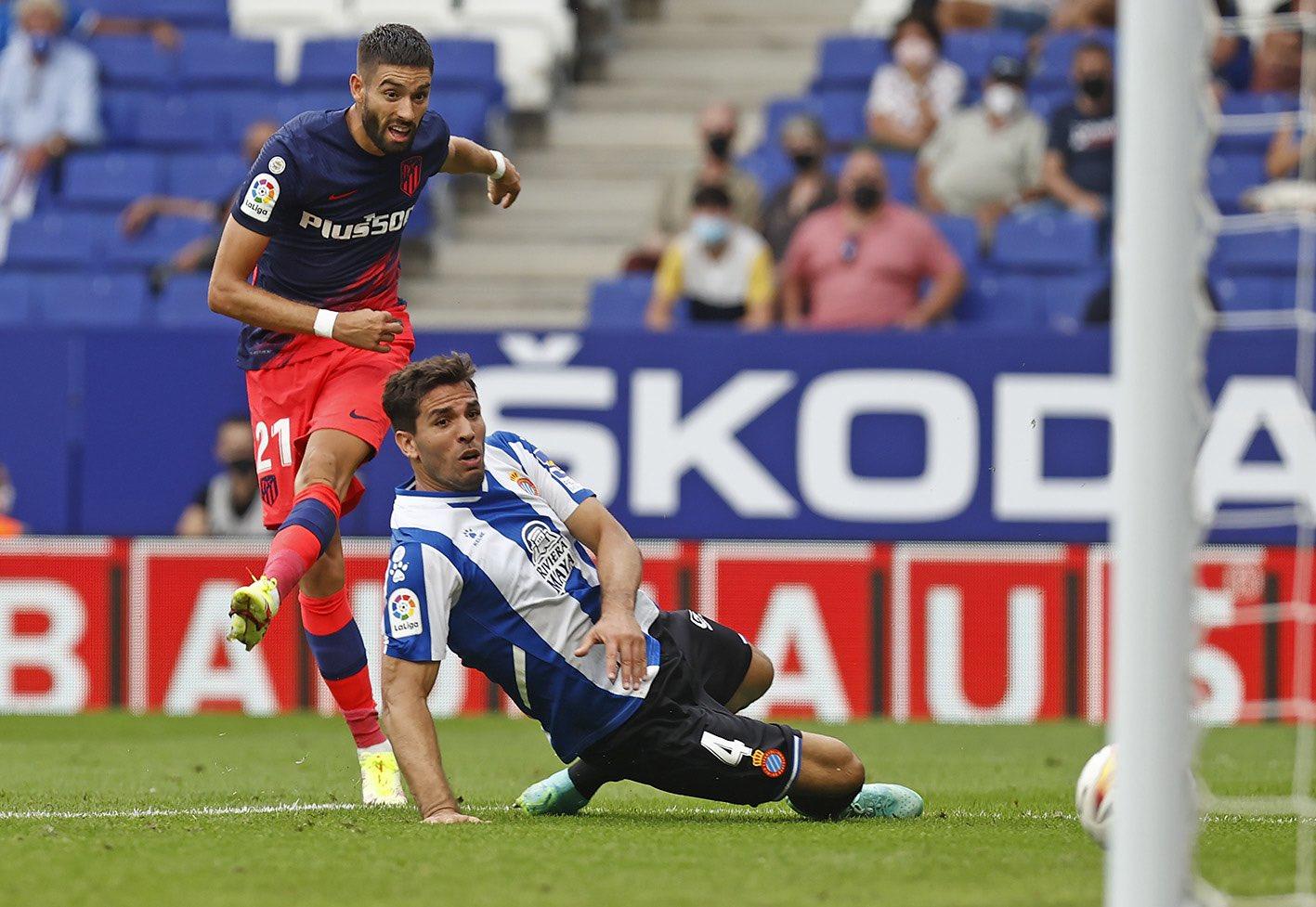 مباراة أتلتيكو مدريد وإسبانيول في الدوري الإسباني