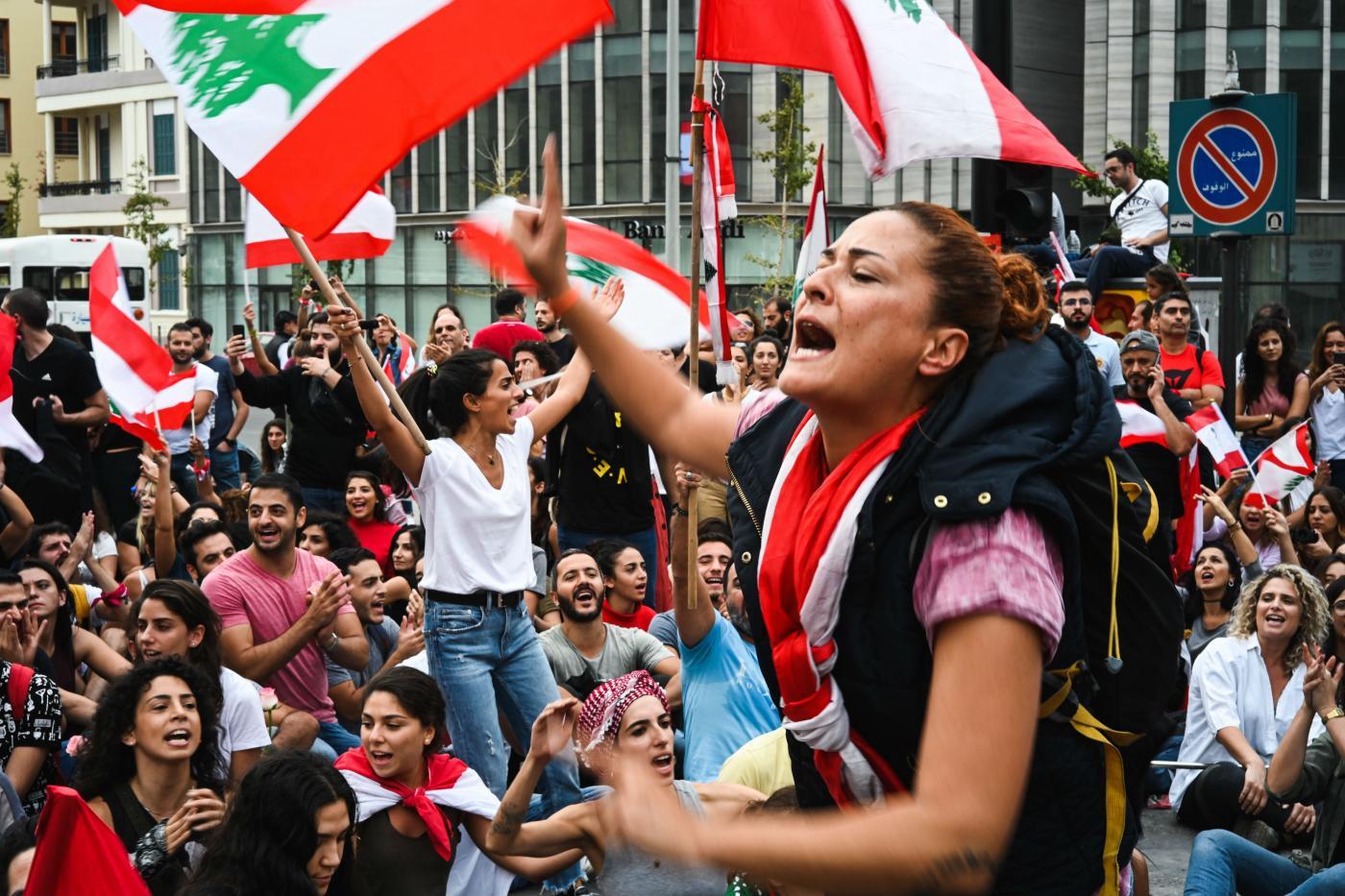 الأزمة في لبنان