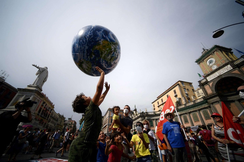 الاحترار المناخي في العالم