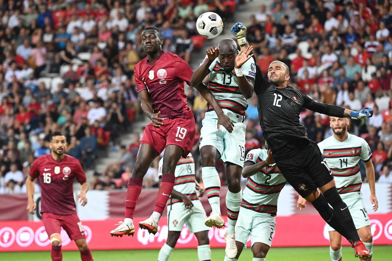 مباراة منتخب البرتغال وقطر في تصفيات مونديال كأس العالم 2022