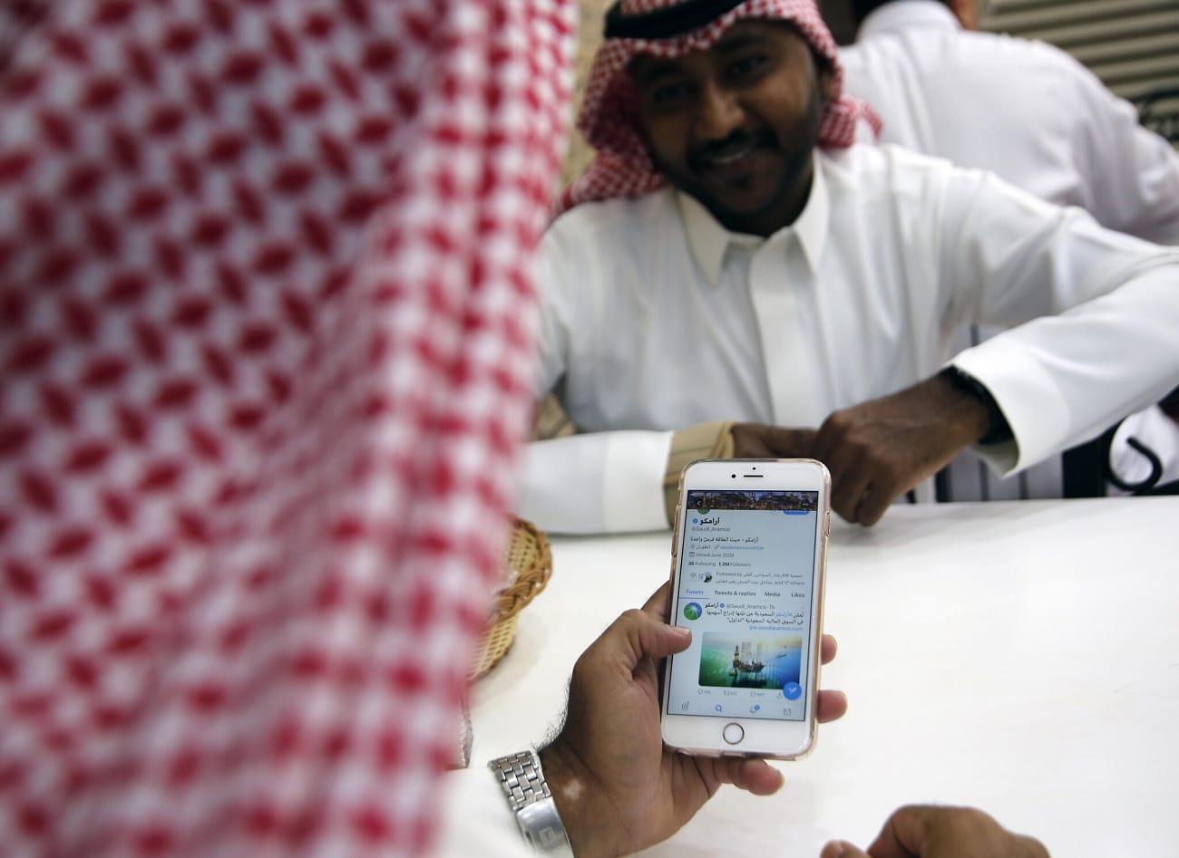 النظام السعودي يتجسس على ناشط معارض