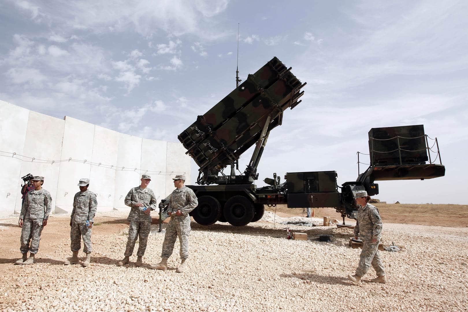 صواريخ باتريوت في السعودية