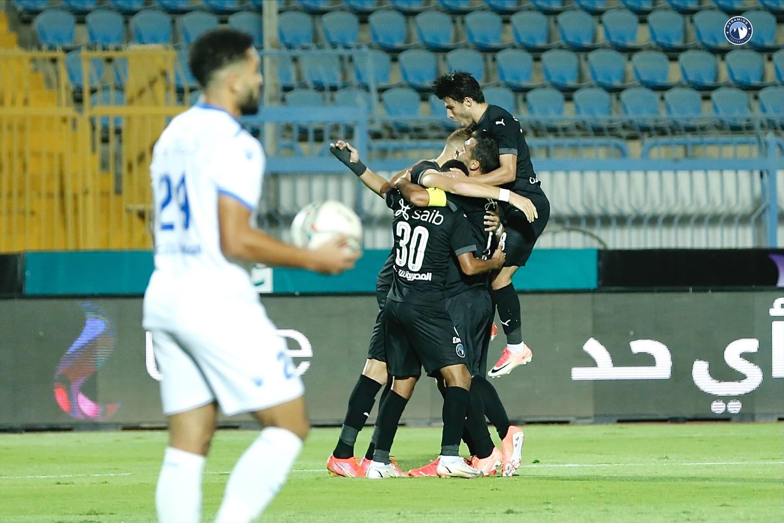 مباراة بيراميدز وسموحة في منافسات كأس مصر