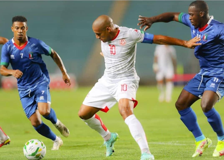 مباراة منتخب تونس وغينيا الاستوائية