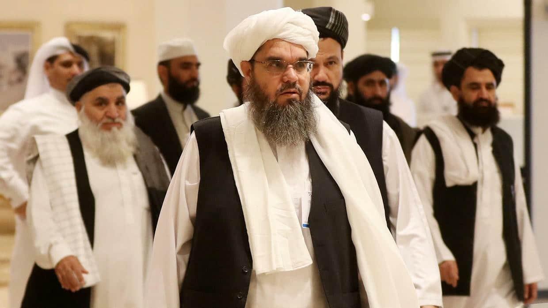 حكومة طالبان في أفغانستان بقيادة ملا حسن