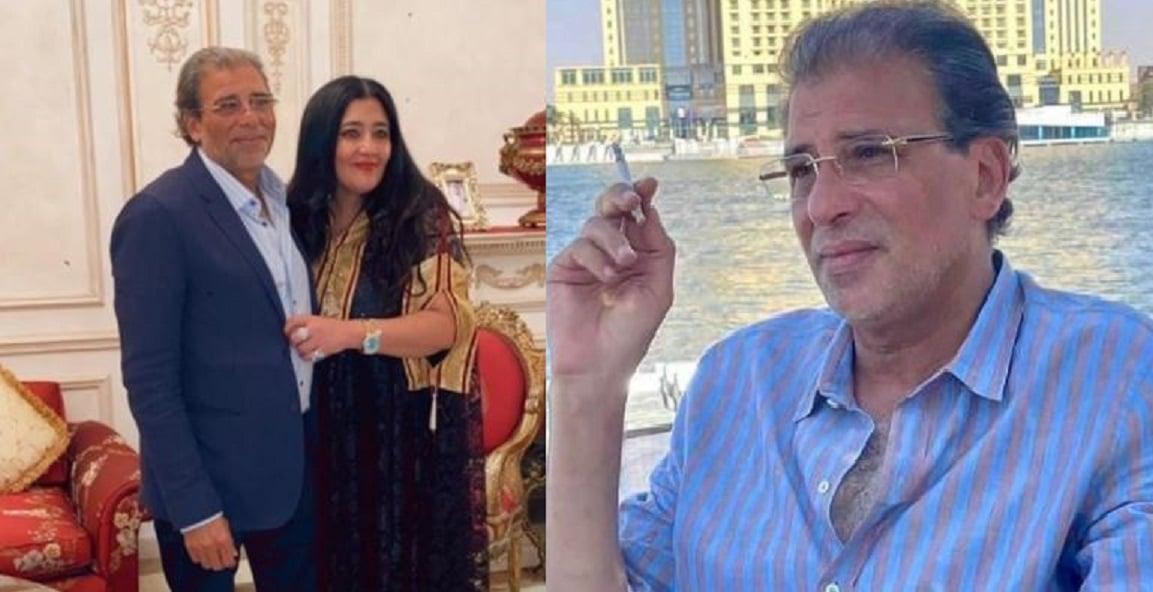خالد يوسف يكشف رد فعل زوجته بعد أزمة الفيديوهات المخلة