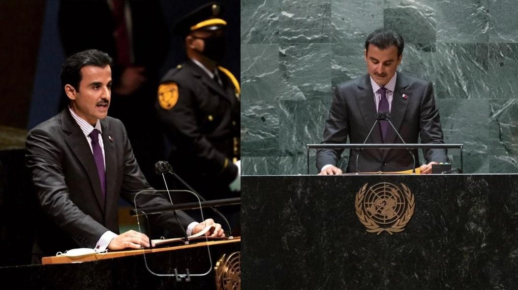 صحفي إسرائيلي يهاجم خطاب أمير قطر في الجمعية العامة للأمم المتحدة