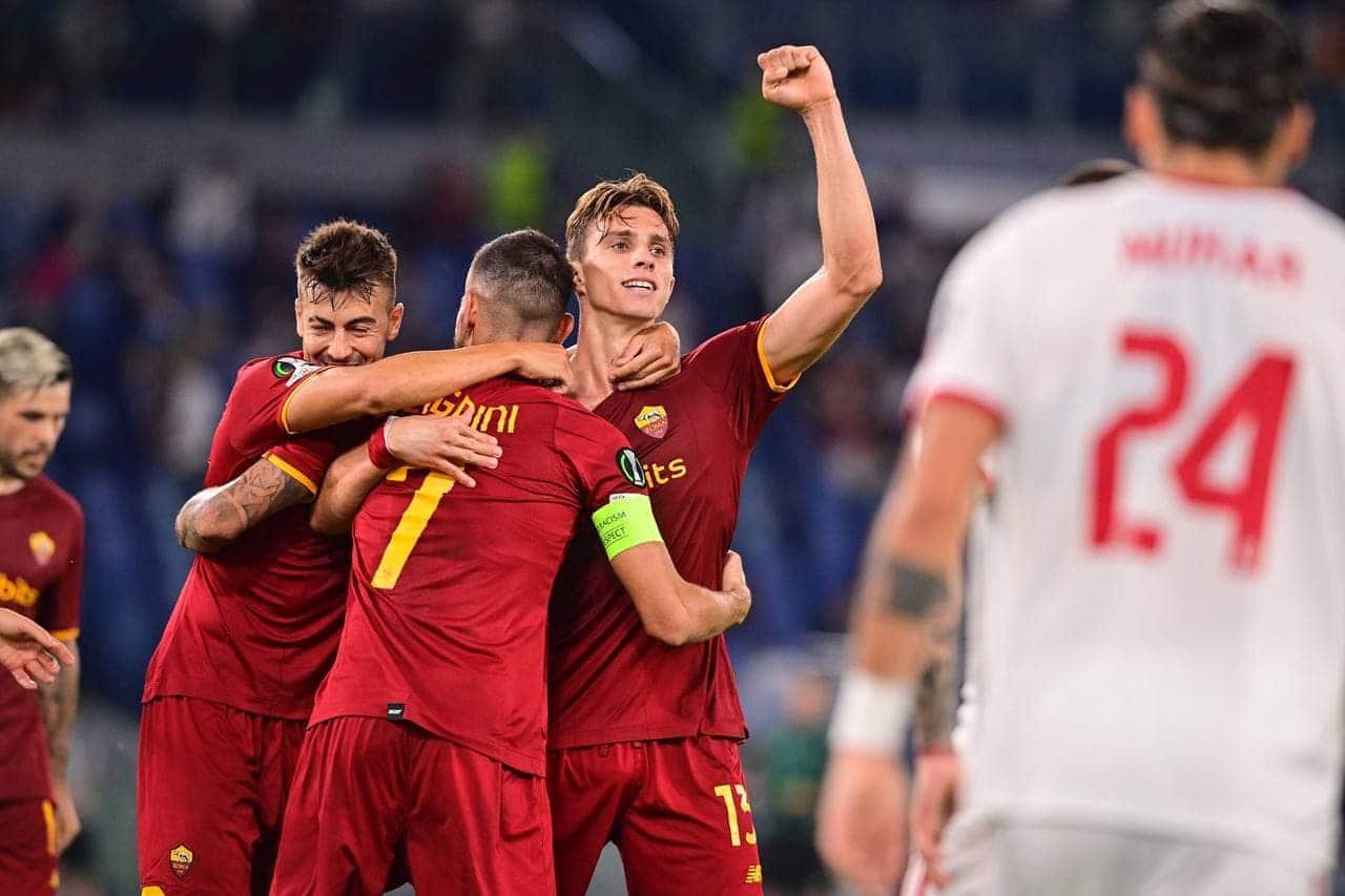 مباراة روما وسسكا صوفيا في الدوري الأوروبي