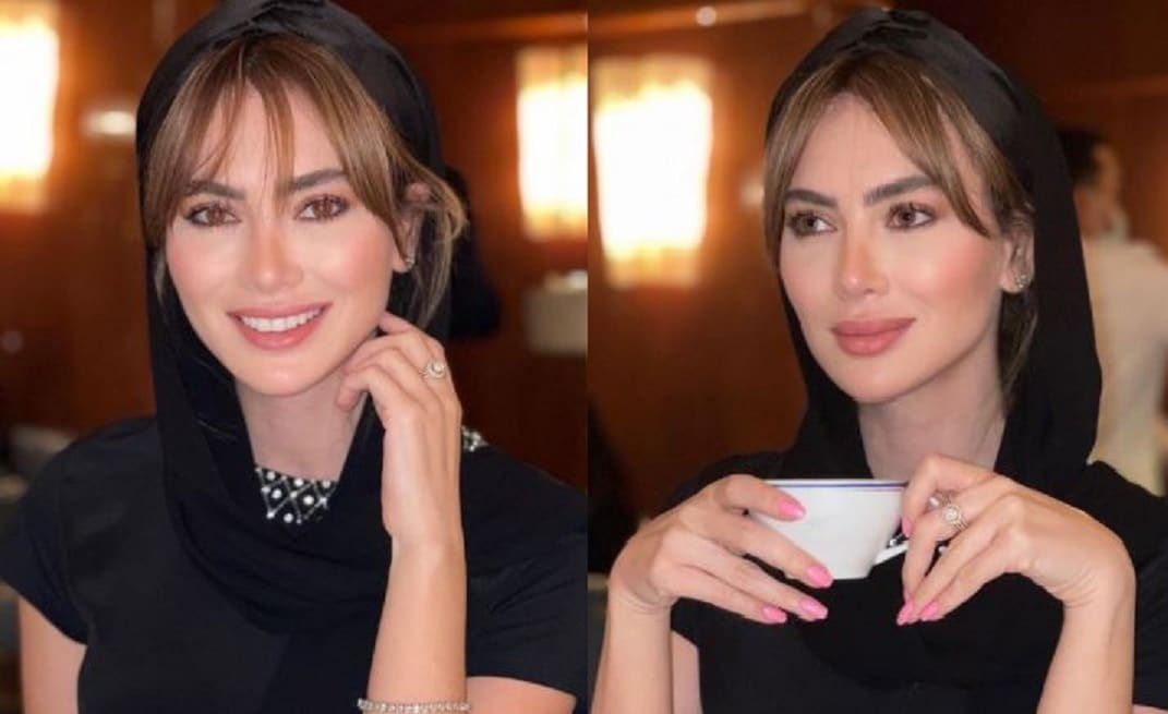 ستيفاني صليبا بالحجاب في السعودية