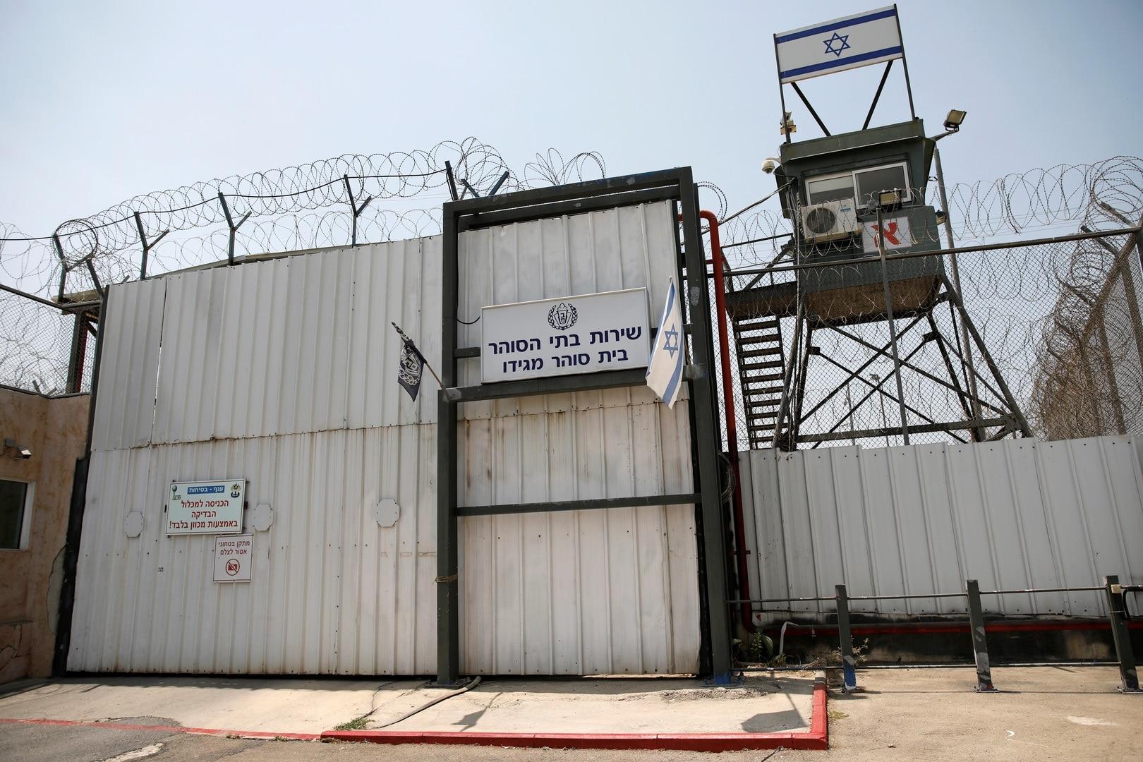 أسرى فلسطينيين يهروب من سجن جلبوع