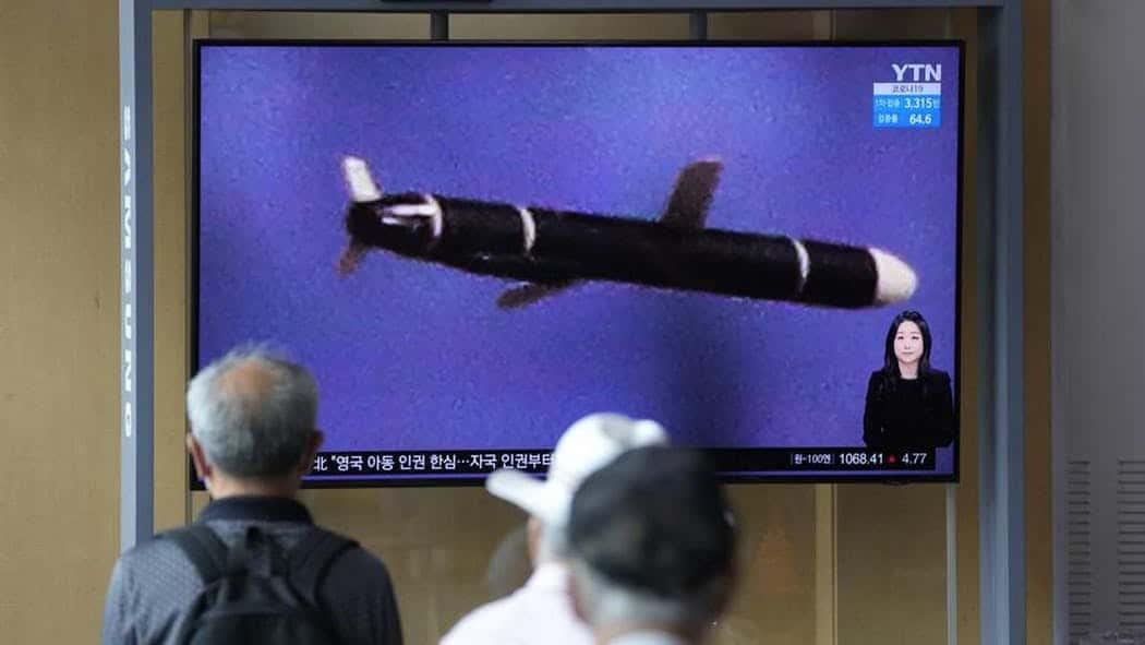 صاروخ كروز الذي أطلقته كوريا الشمالية