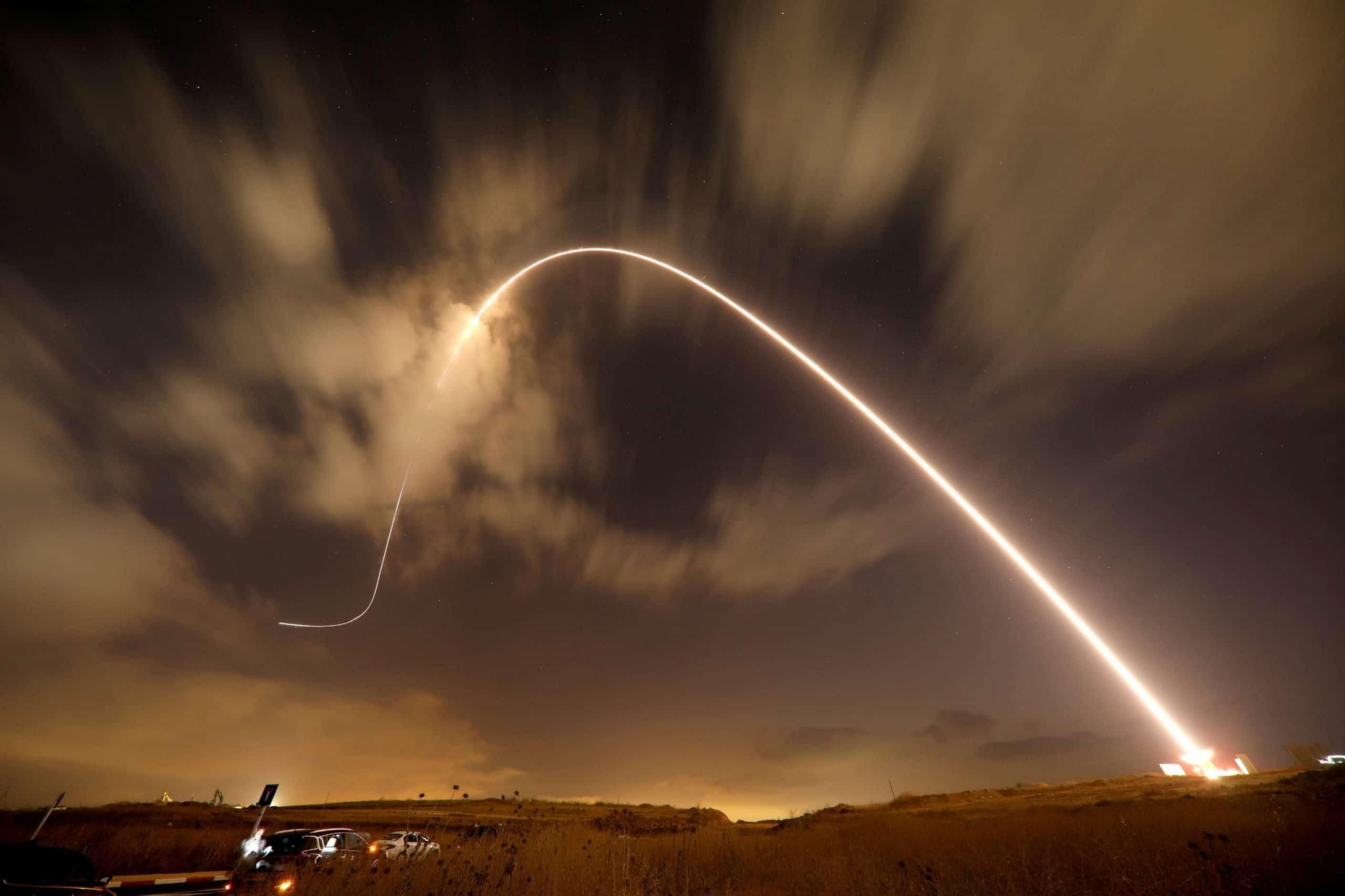 صاروخ من غزة