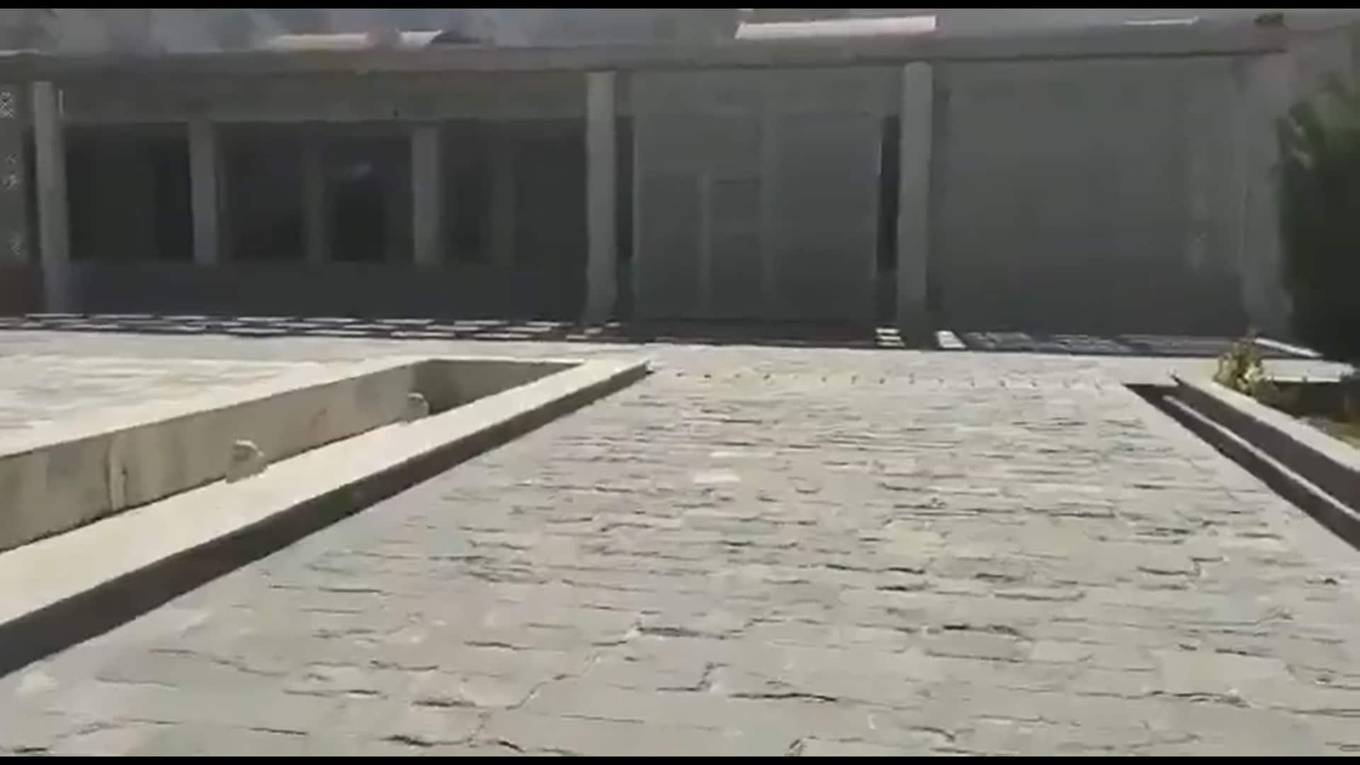 ضريح أحمد شاه مسعود في بنجشير