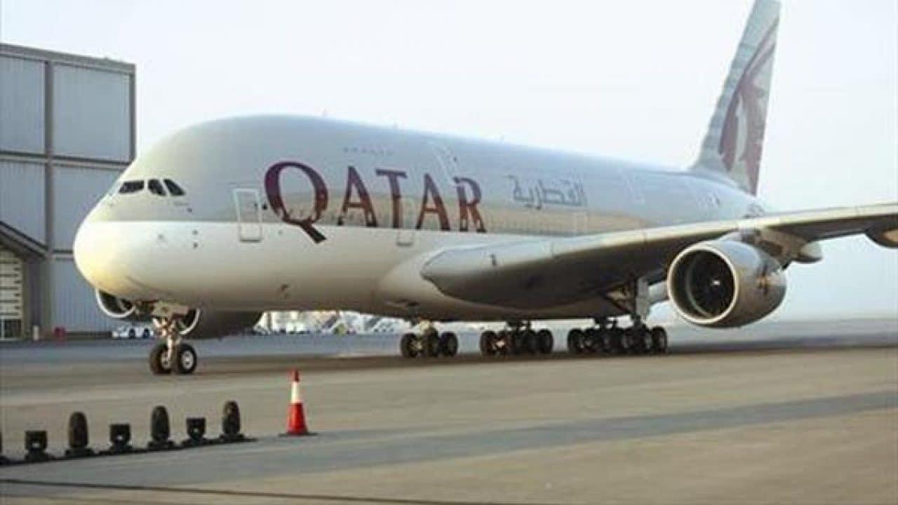 طائرة قطرية تحط في مطار كابل