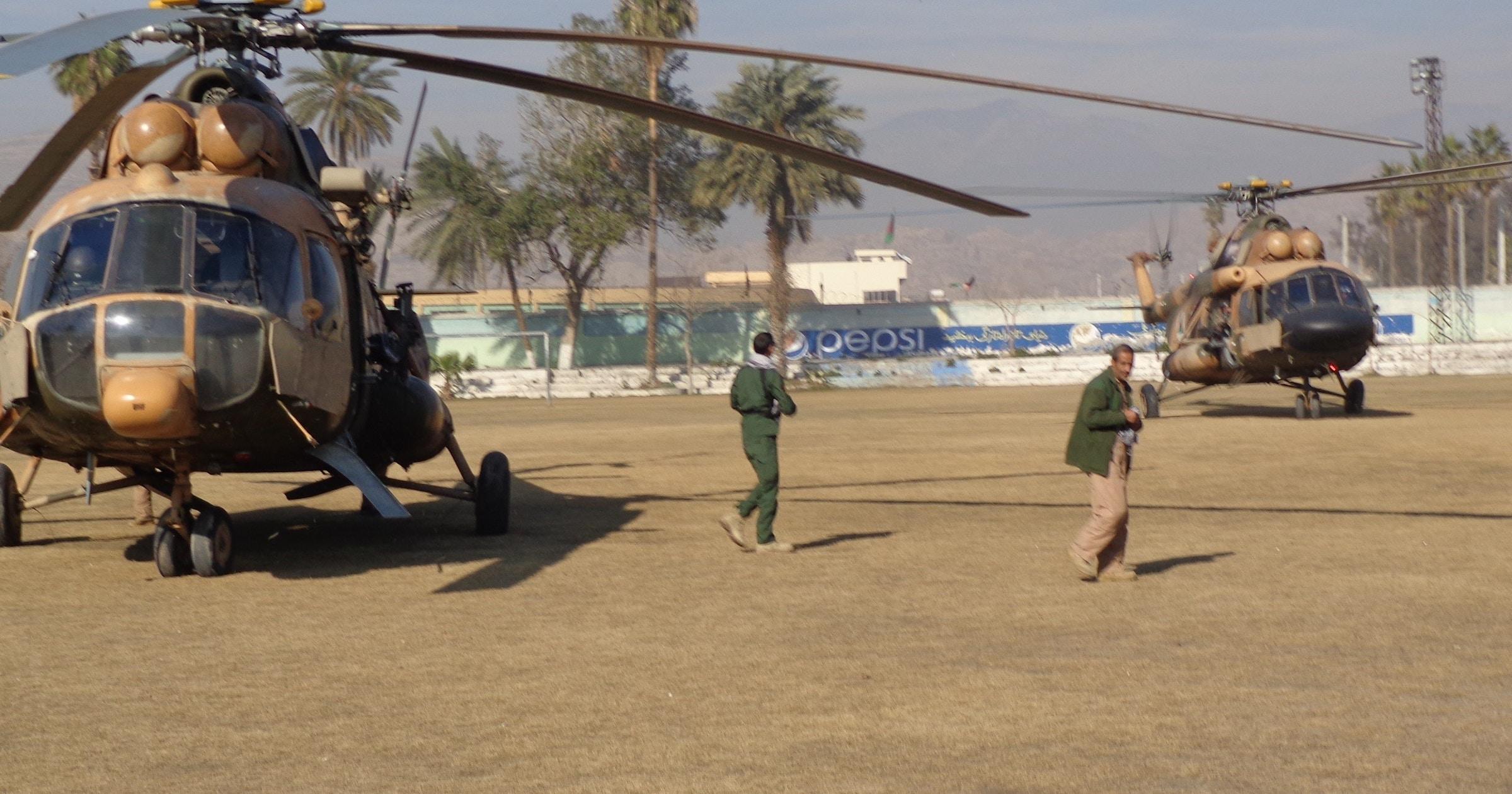 طيارون أفغان