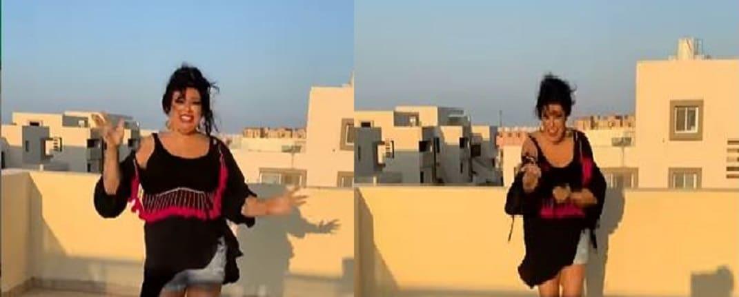 فستان فيفي عبده الأخضر يثير سخرية الجمهور الذي شبهها بـ(طحالب البحر)!