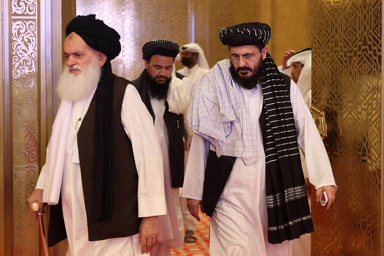 قادة طالبان في الدوحة