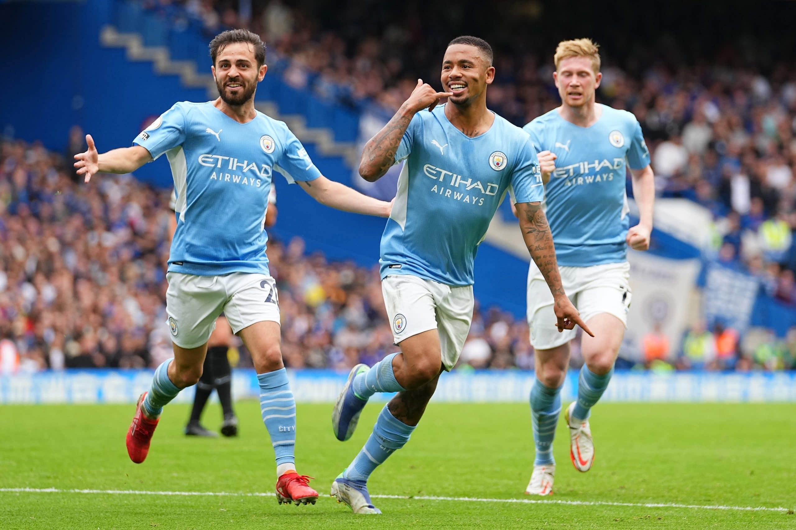 مباراة مانشستر سيتي وتشيلسي في الدوري الإنجليزي