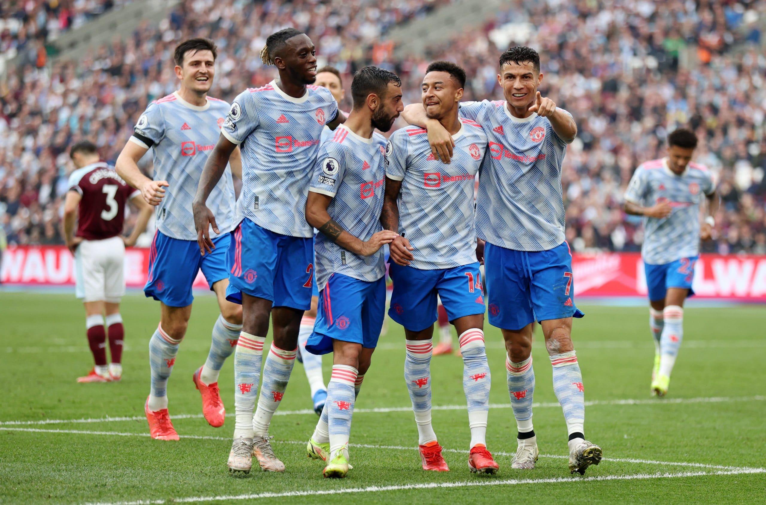 مباراة مانشستر يونايتد ووست هام في الدوري الإنجليزي