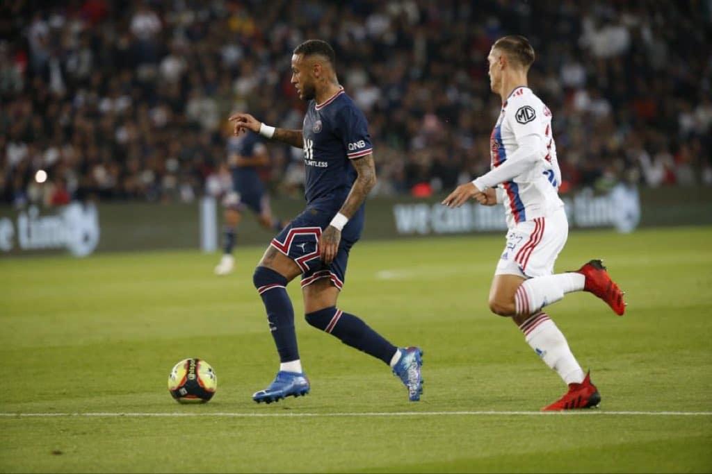 باريس سان جيرمان وتحقيق الفوز الصعب على ليون في الدوري الفرنسي