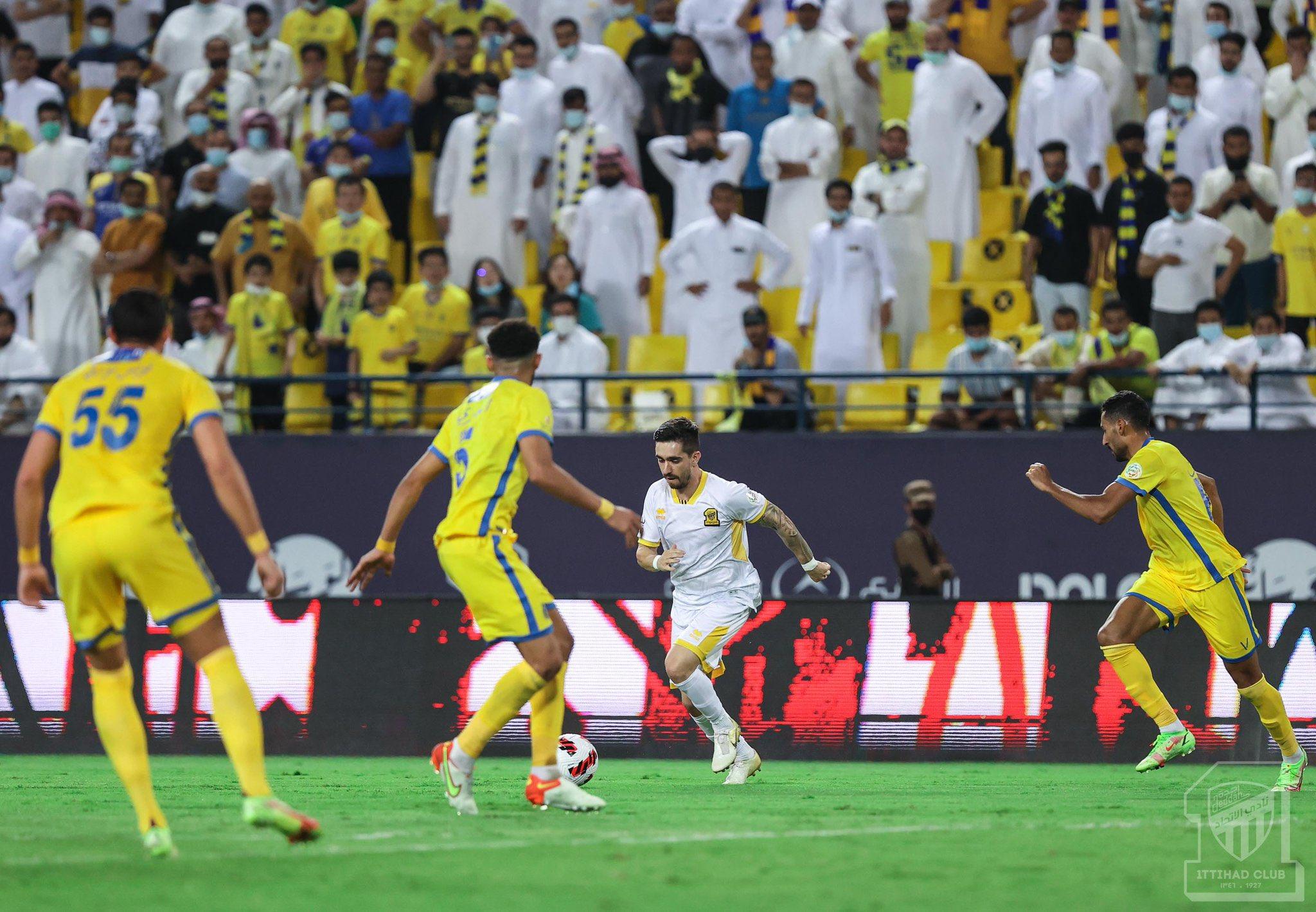 الاتحاد يحقق الفوز على النصر في الدوري السعودي