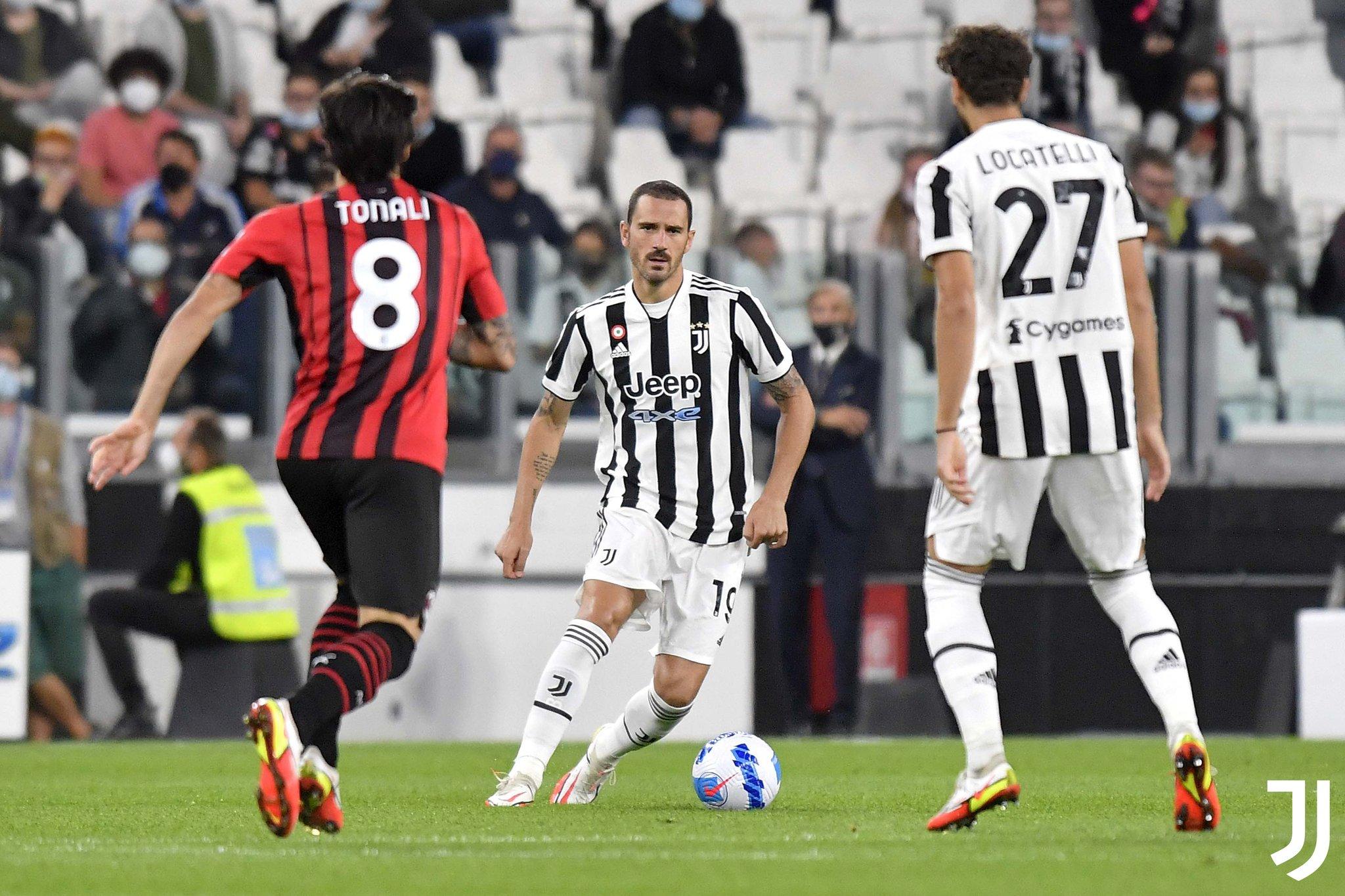 يوفنتوس يتعثر بالتعادل الإيجابي أمام منافسه الميلان في الدوري الإيطالي