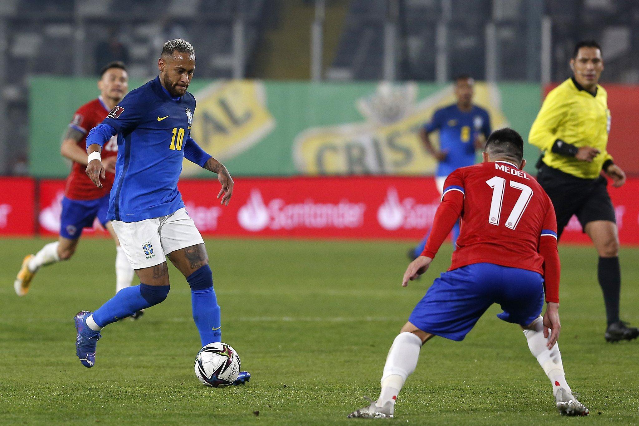 منتخب البرازيل يحقق الفوز على تشيلي بهدف نظيف دون رد