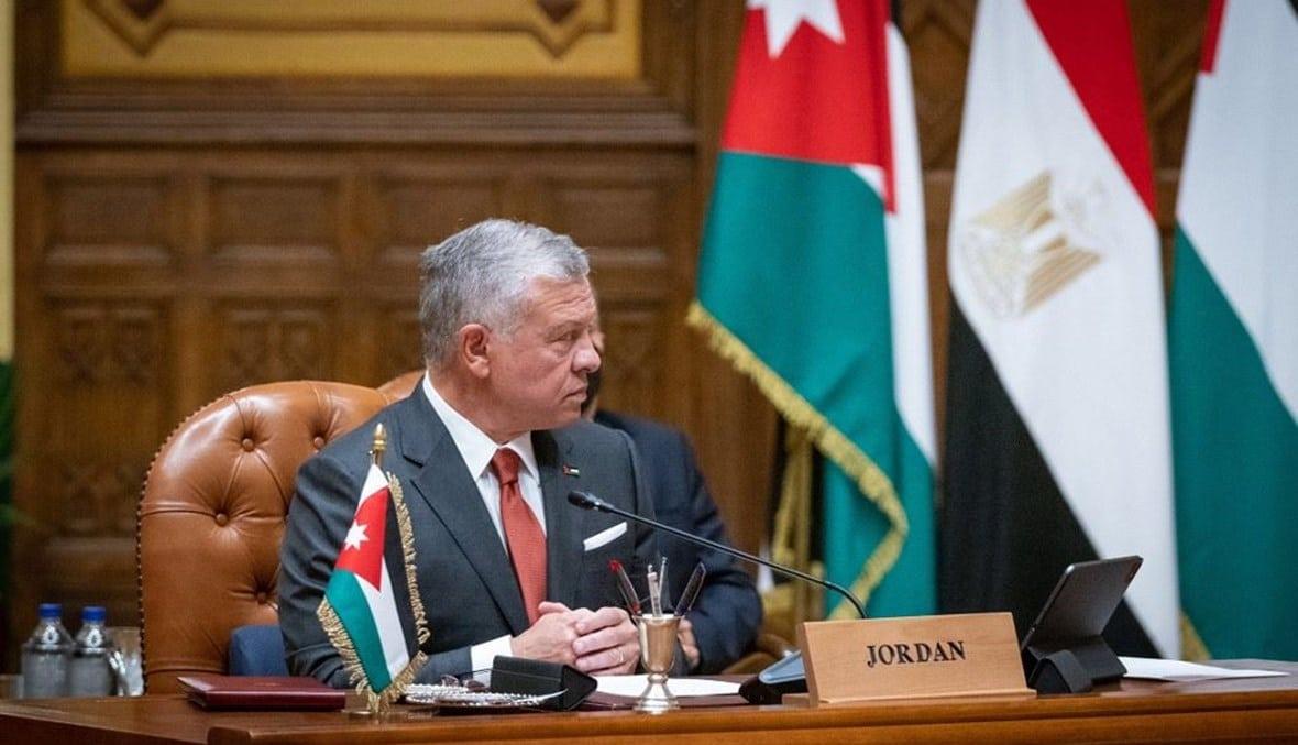 وزير خارجية الاحتلال التقى سراً ملك الأردن عبدالله الثاني.. ماذا بحثا في عمان؟!