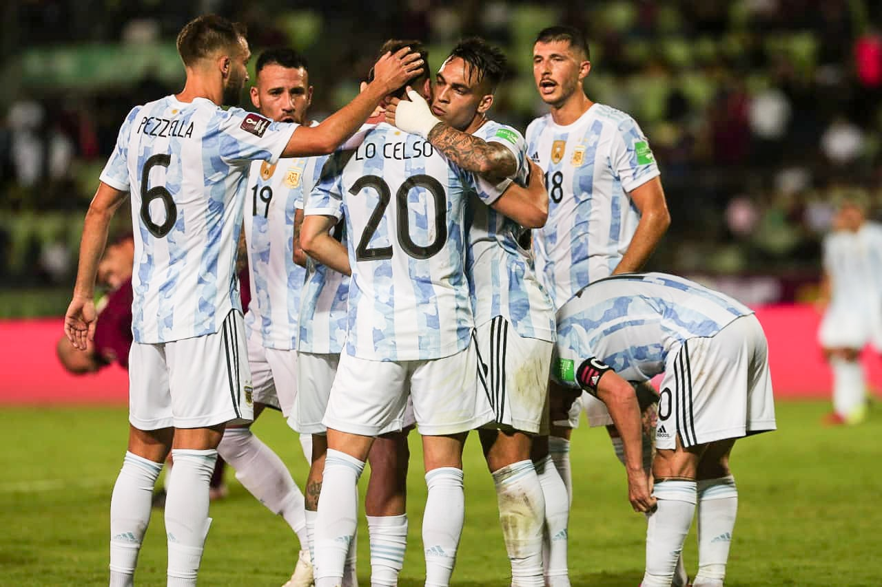 مباراة منتخب الأرجنتين وفنزويلا في تصفيات مونديال كأس العالم 2022