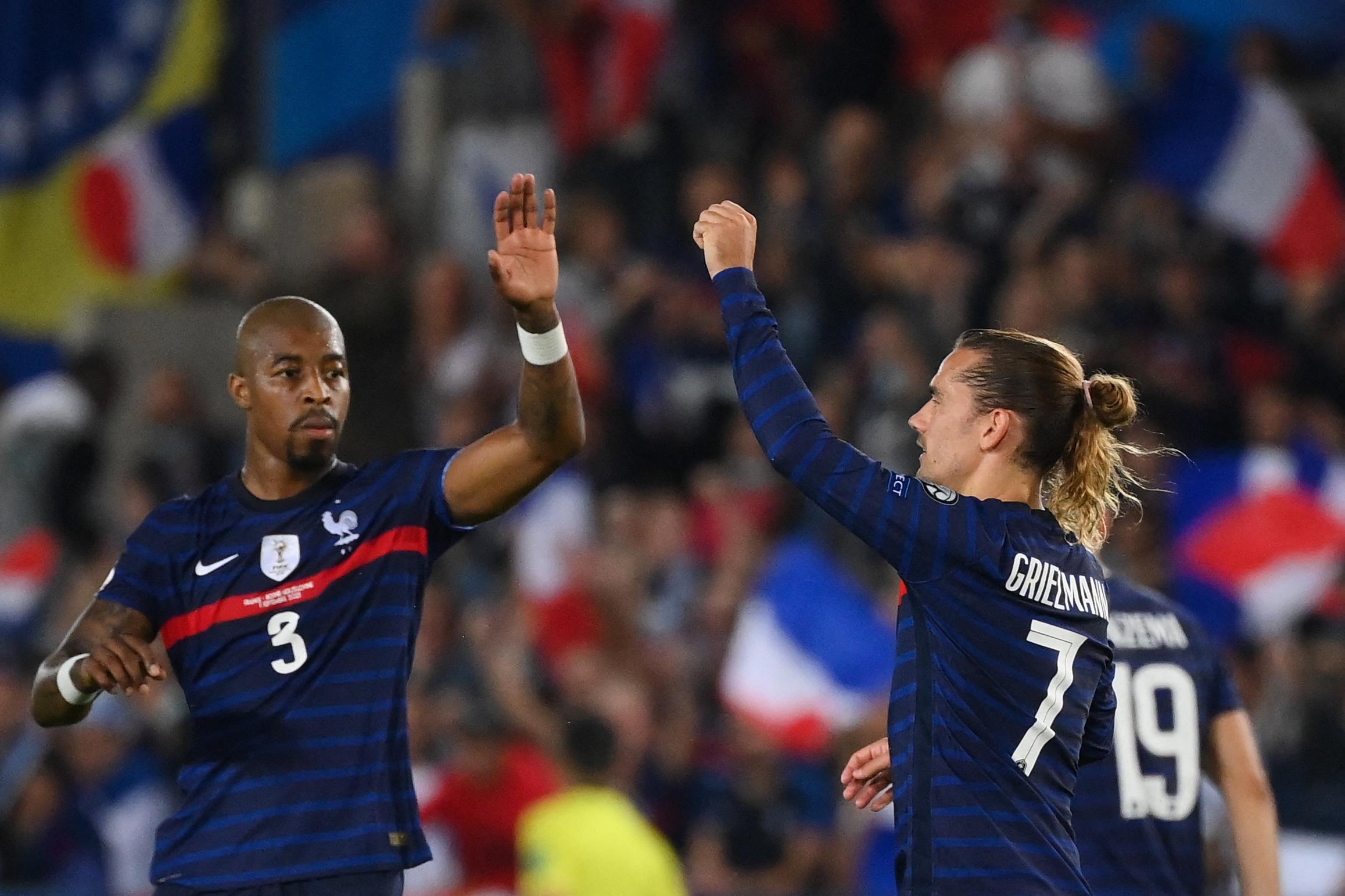 منتخب فرنسا يسقط في فخ التعادل أمام البوسنة والهرسك في تصفيات مونديال العالم 2022