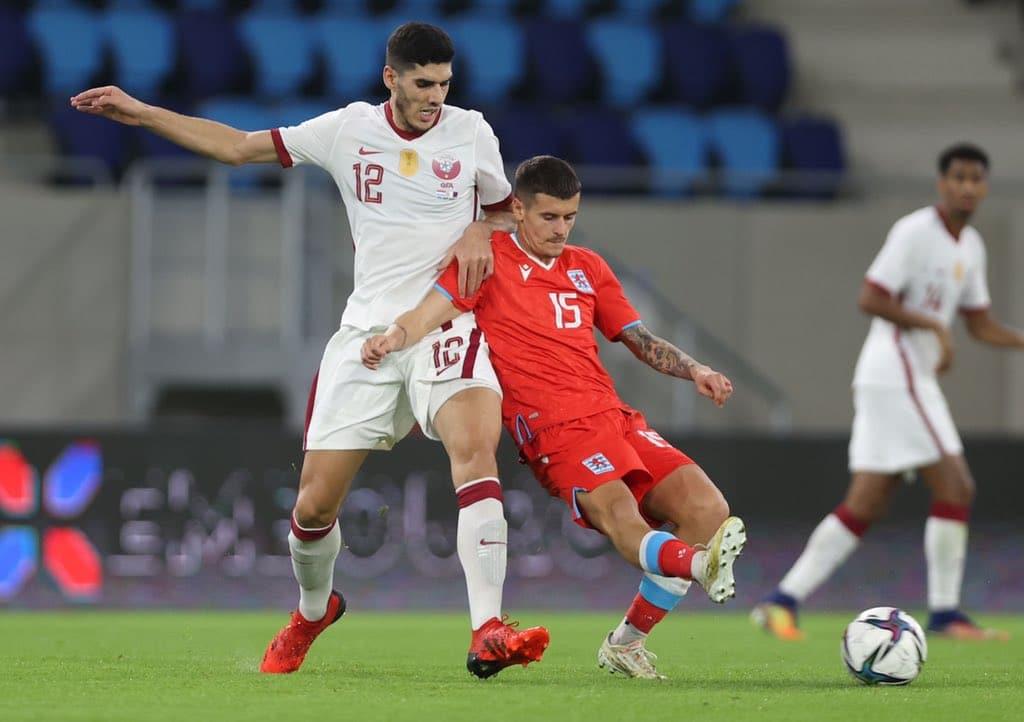 مباراة منتخب قطر ولوكسمبورغ في تصفيات أوروبا لمونديال كأس العالم 2022