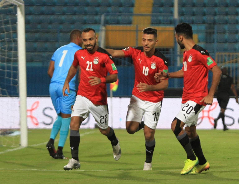 مباراة منتخب مصر وأنغولا في تصفيات مونديال العالم 2022