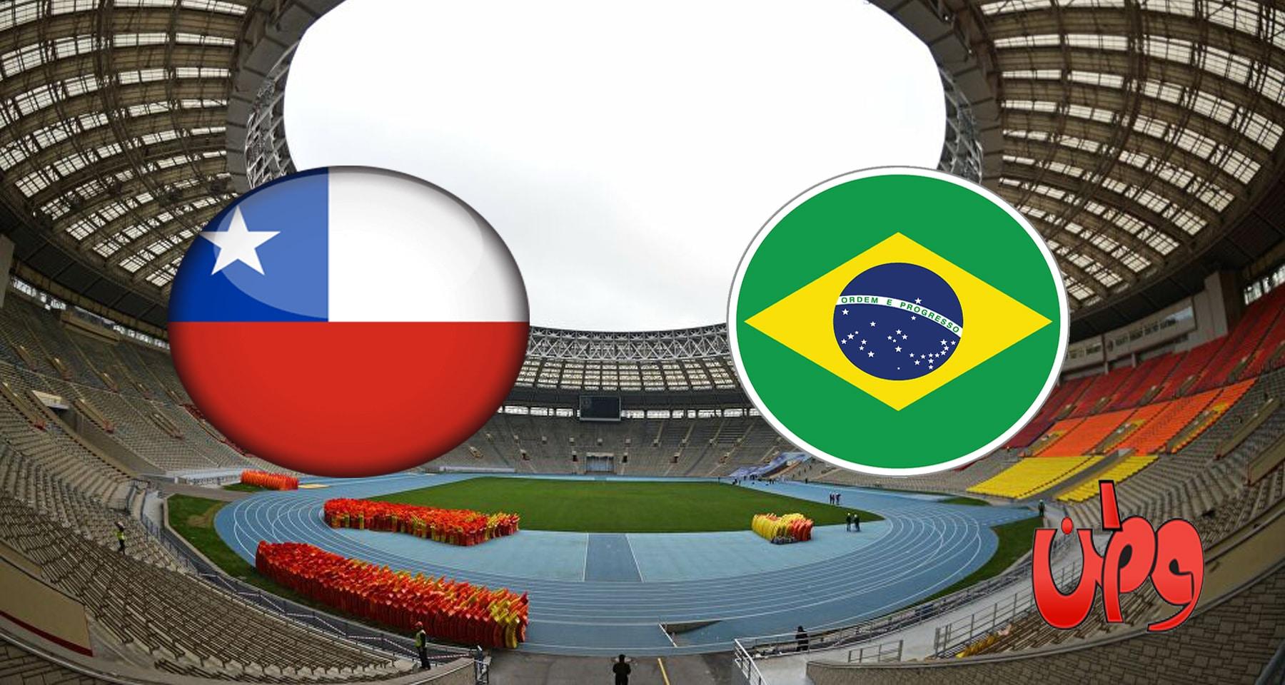 مباراة البرازيل وتشيلي في تصفيات مونديال العالم 2022