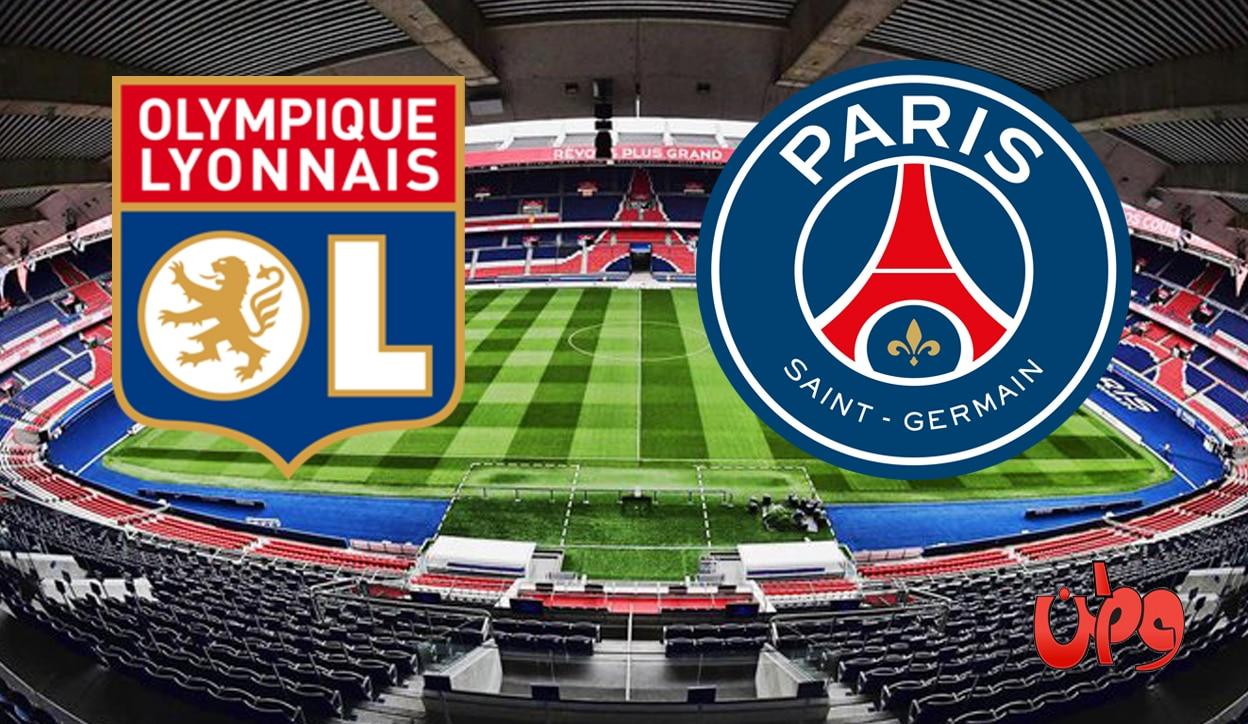 مباراة فريق باريس سان جيرمان وأولمبيك ليون في الدوري الفرنسي