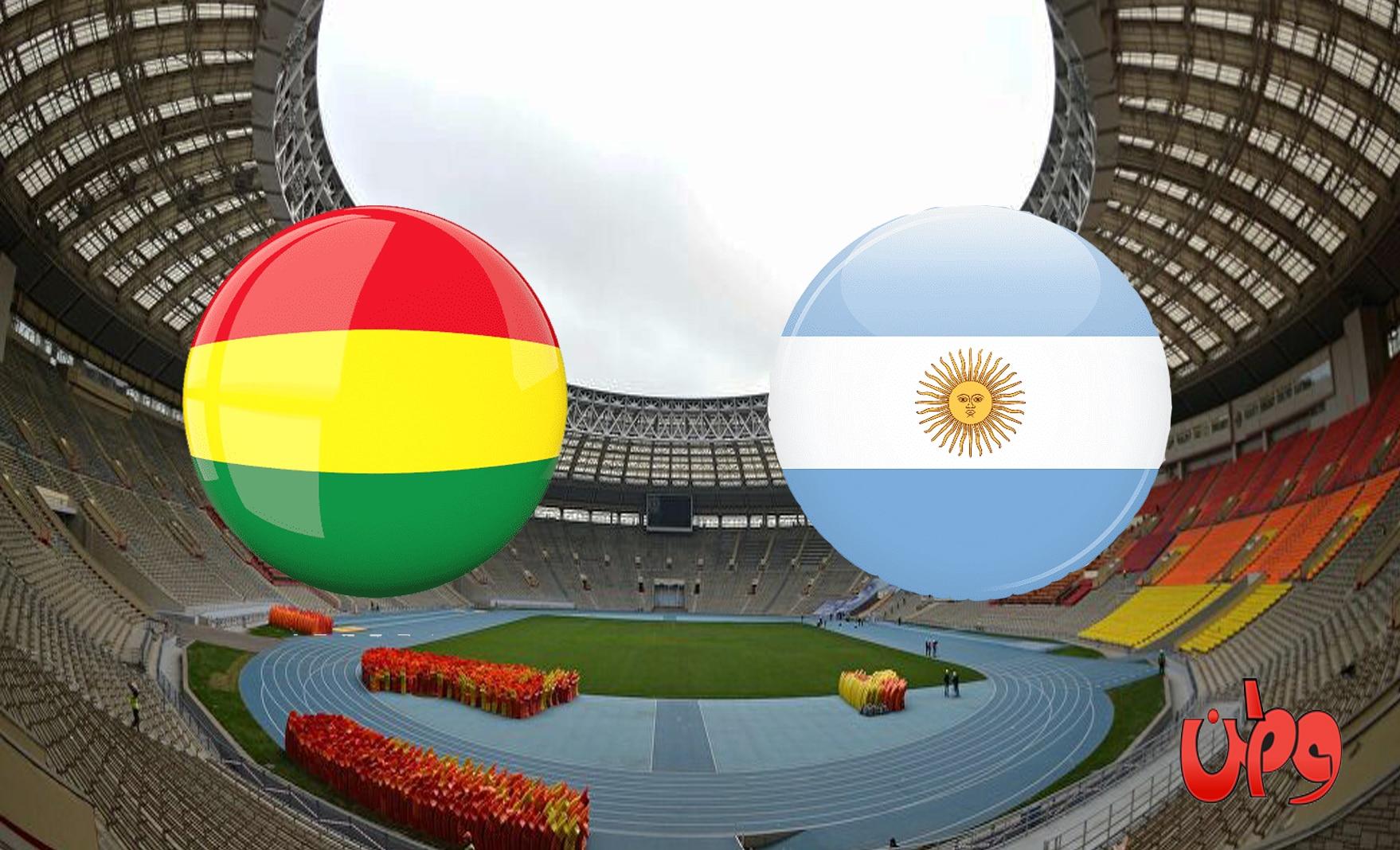 مباراة منتخب الأرجنتين وبوليفيا في تصفيات مونديال كأس العالم 2022
