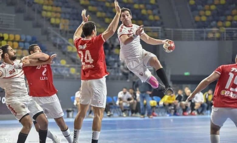 مباراة الأهلي والزمالك في نهائي السوبر الأفريقي لكرة اليد