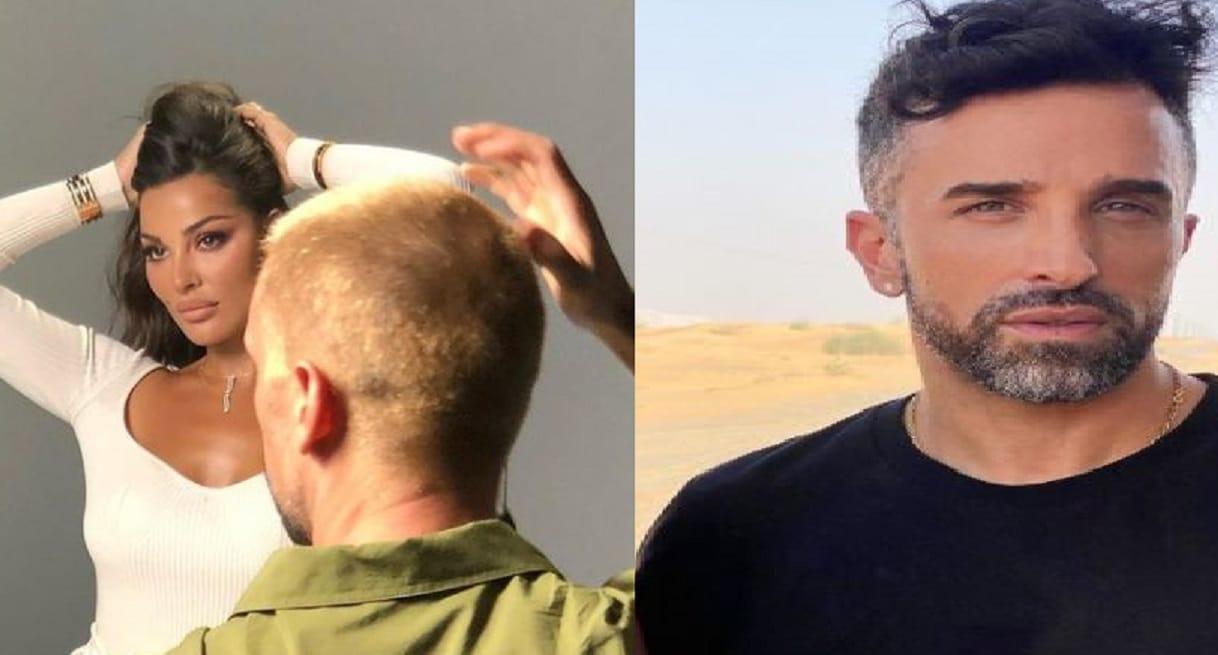 صورة نادين نجيم مع مصفف شعر إسرائيلي تثير ضجة