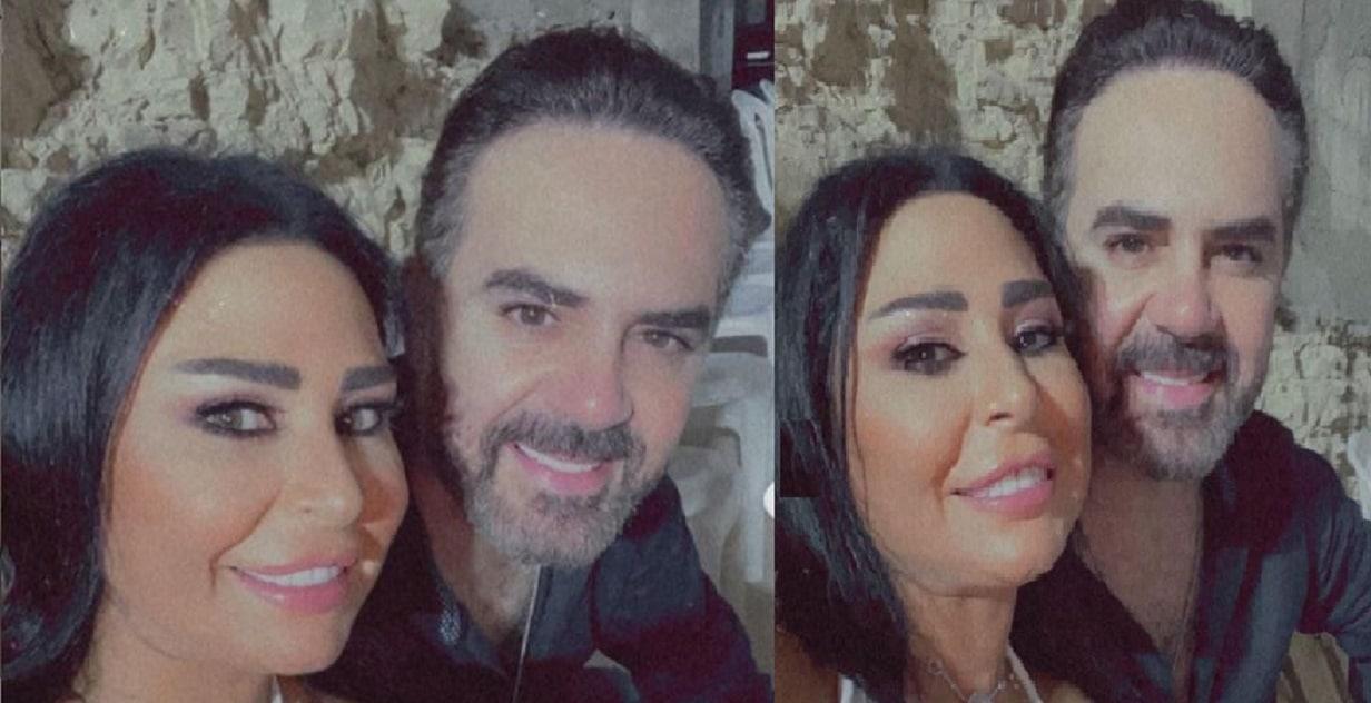 وائل جسار ينشر صورة رومانسية تجمعه بزوجته و(الفلتر) يضعه بموقف مُحرج! (شاهد)
