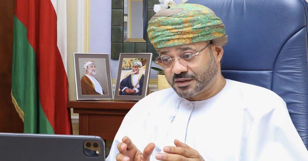 وزير خارجية سلطنة عمان بدر البوسعيدي