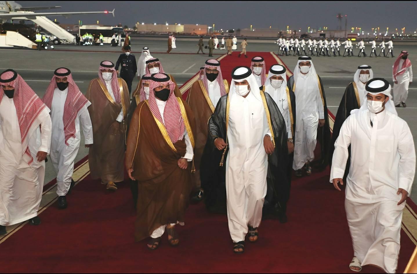 وزير الداخلية السعودي في الدوحة