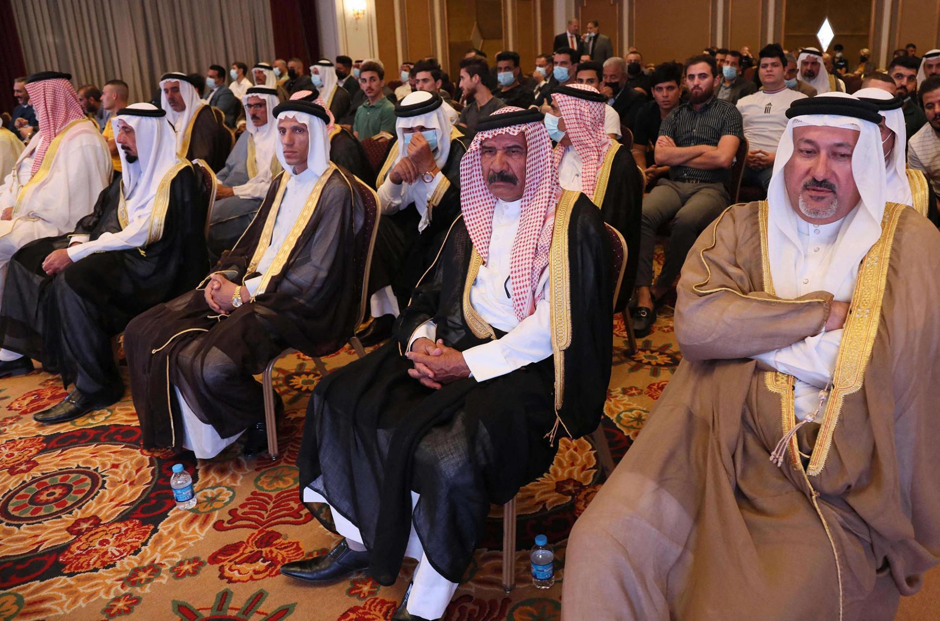 وسام الحردان صاحب بيان التطبيع في مؤتمر أربيل