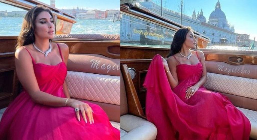 إطلالة ياسمين صبري في فينسيا تخطف الأنظار