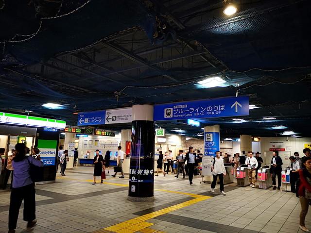 新横浜駅の待ち合わせでわかりやすい場所(横浜市営地下鉄付近)