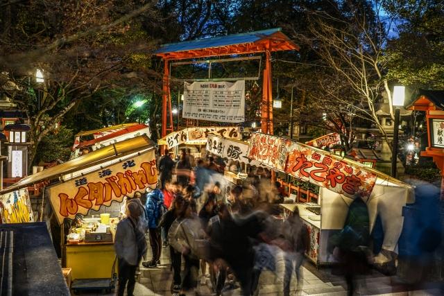 新横浜花火大会で屋台はある⁈持ち込み買い出しにお勧めのお店まとめ!