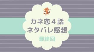 カネ恋4話最終回ネタバレあらすじ感想口コミ!玲子と慶太の恋の結末は⁈