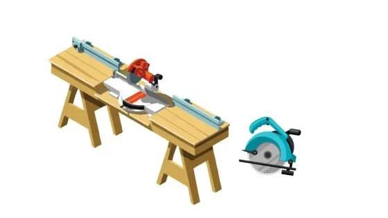 工具スライド丸鋸