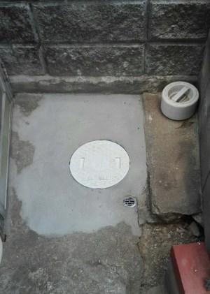 排水桝設置(風呂)