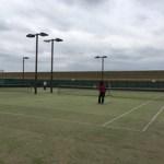 サクラとテニス