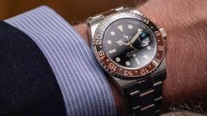 rolex orologio polso uomo